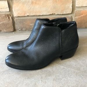 Sam Edelman Petty Pebbled Leather Booties